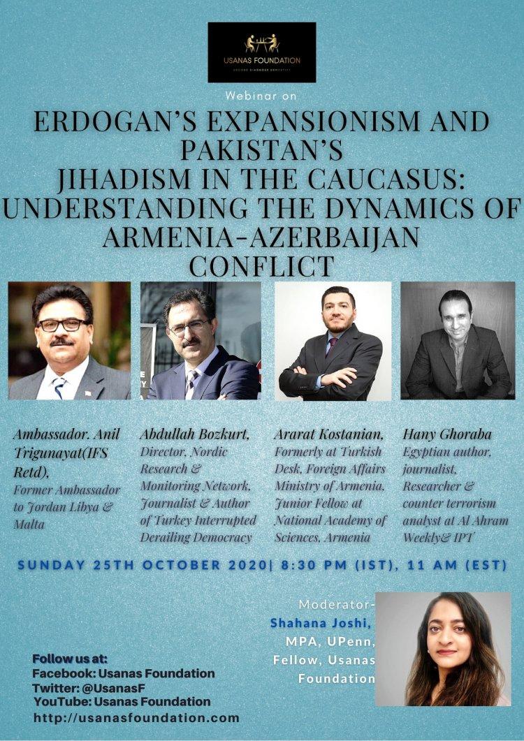 Erdogan's Expansionism and Pakistan's Jihadism in Caucasus: Understanding the Dynamics of Armenia-Azerbaijan Conflict