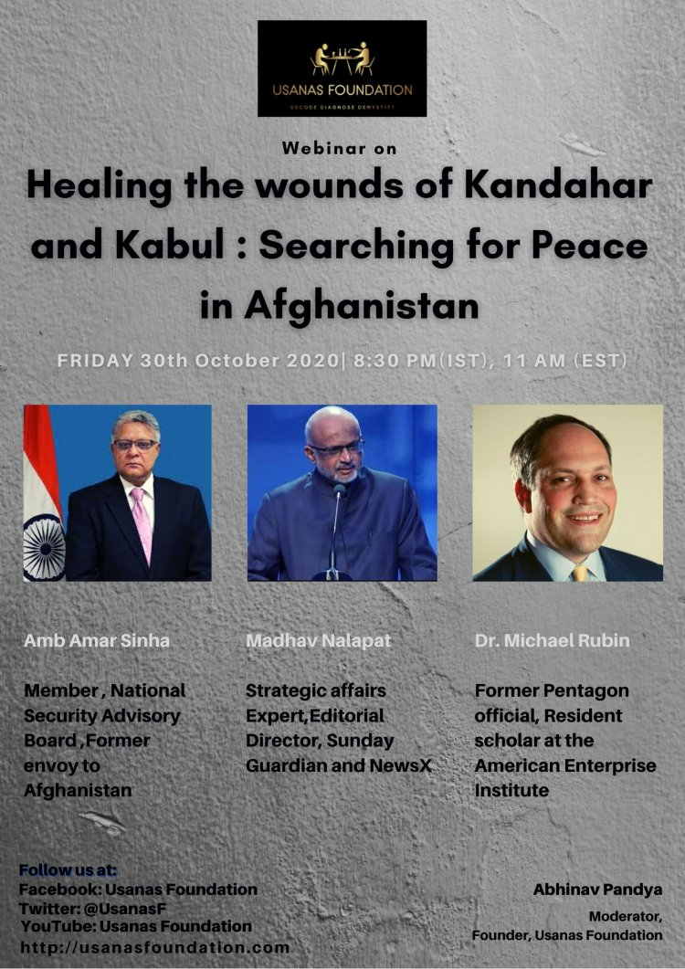 Healing the Wounds of Kandahar and Kabul: Searching for Peace in Afghanistan