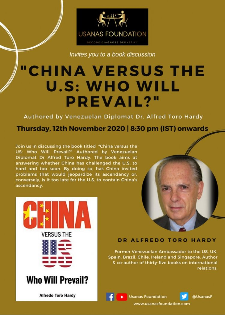 "Book discussion ""China versus the U.S: Who will prevail?"""