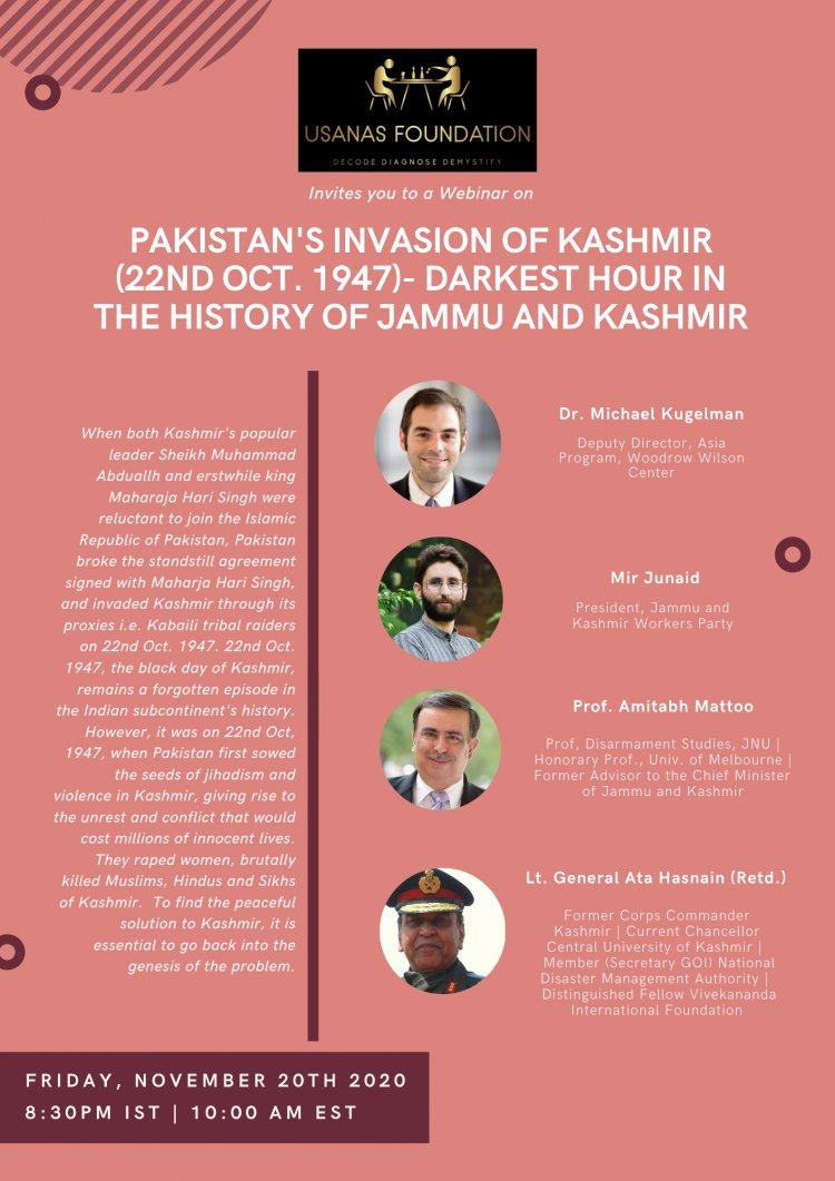 Pakistan's Invasion of Kashmir (22nd Oct. 1947)