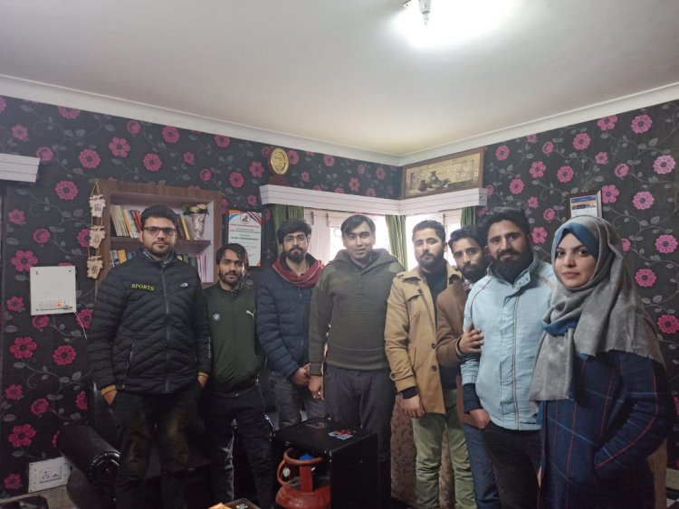 An Interaction with Real Kashmir