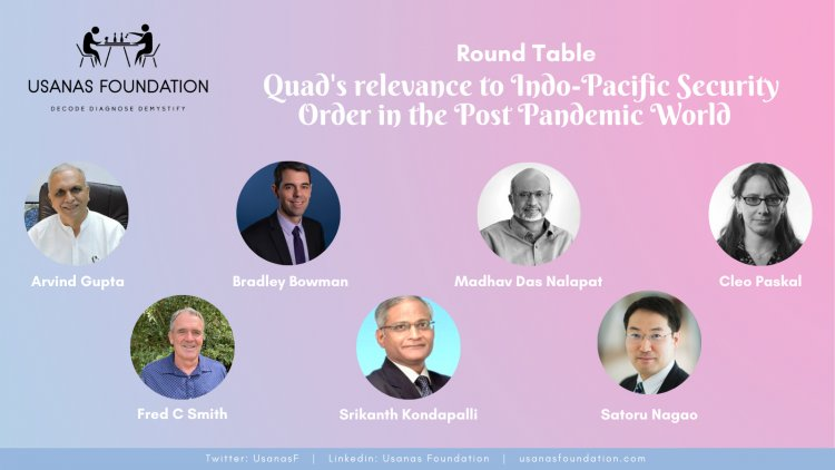 The Future of QUAD in Indo Pacific Security Order